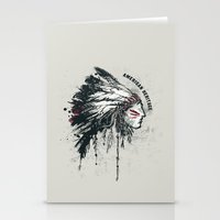 American Heritage (White) Stationery Cards