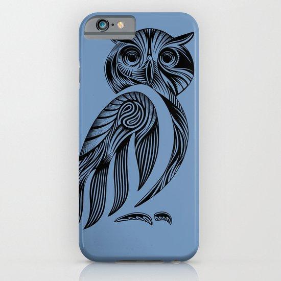 Tribal Owl iPhone & iPod Case