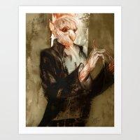 vampyr bill Art Print