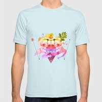 Dead Twins Mens Fitted Tee Light Blue SMALL