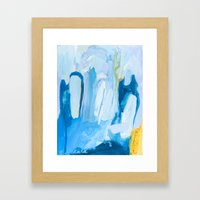 Color Study No. 10 Framed Art Print