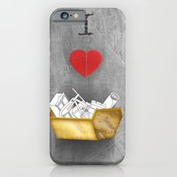 iPhone & iPod Case featuring i heart skips by sixsixninenine