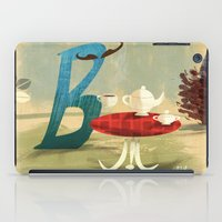Time For Tea With Letter… iPad Case