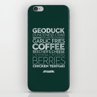Seattle — Delicious Ci… iPhone & iPod Skin