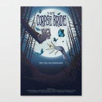Alternative Movie Poster Canvas Print