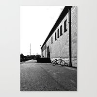 Canvas Print featuring Nalley Valley bike by Vorona Photography