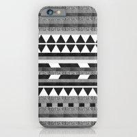 DG Aztec No.1 Monotone iPhone 6 Slim Case
