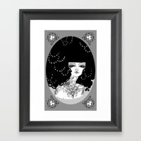 WHITEOUT - 'Oh So Meloch… Framed Art Print