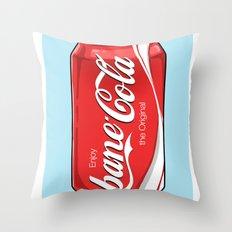 Bane Cola Throw Pillow