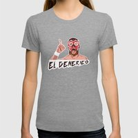 ROH El Generico Womens Fitted Tee Tri-Grey SMALL