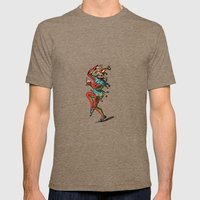 Jester Mens Fitted Tee Tri-Coffee SMALL