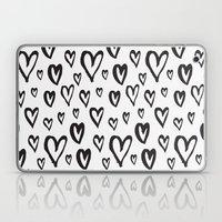Inky Dinky Hearts Laptop & iPad Skin