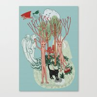 A Stick-Insects Dream Canvas Print