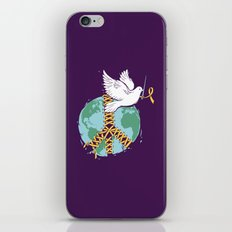 The Peacemaker iPhone & iPod Skin