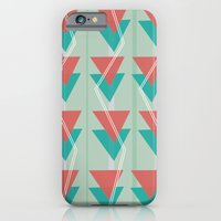 Triangles and lines iPhone 6 Slim Case