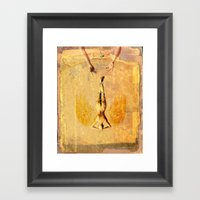 Tarot Series: The Sun Framed Art Print