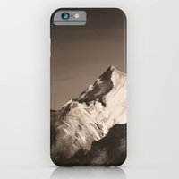 iPhone & iPod Case featuring Mountain Painting by Brianms18