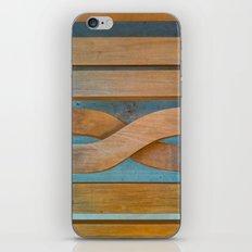 Cross the Wood iPhone & iPod Skin