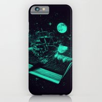 iPhone & iPod Case featuring Crossing the Rough Sea of Knowledge   by nicebleed
