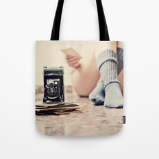 Past time will not return Tote Bag