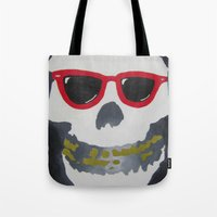 Old Dirty-Crimson Ghost-Face Killa Tote Bag