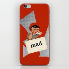 mad iPhone & iPod Skin