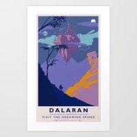 Dalaran Classic Rail Pos… Art Print