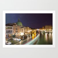 Goodnight Venice Art Print