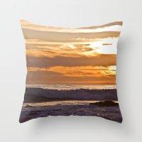 El Matador Sunset, 2011 Throw Pillow