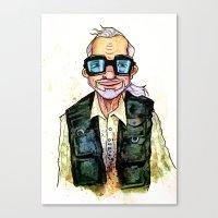 George A. Romero Canvas Print