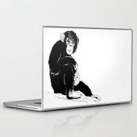 monkey Laptop & iPad Skins featuring Monkey by takmaj