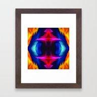 Abstract 001 Framed Art Print