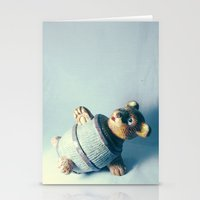 Bear-rel of Laughs Stationery Cards