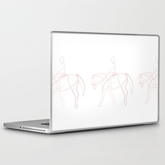 Rider line Laptop & iPad Skin