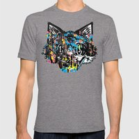 The Creative Cat (Alt. C… Mens Fitted Tee Tri-Grey SMALL