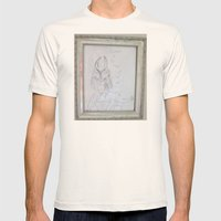 Demon by a 6 year old Mens Fitted Tee Natural SMALL