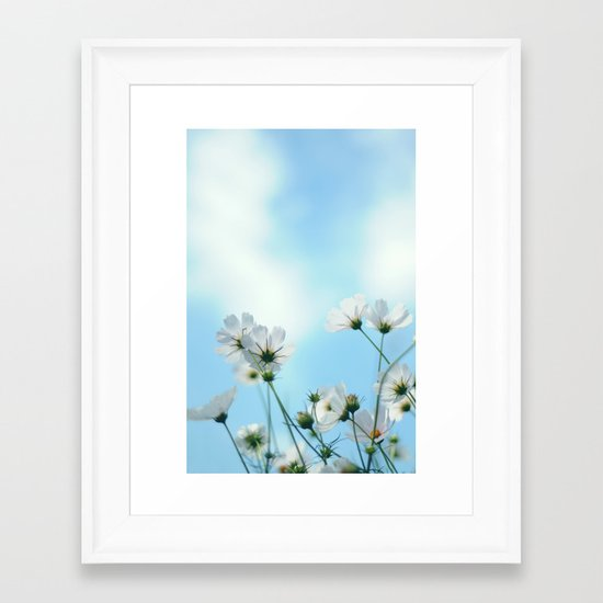 Beautiful morning Framed Art Print