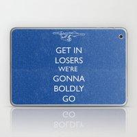 Boldly Go Laptop & iPad Skin