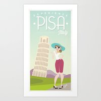 Experience Pisa! Art Print