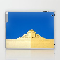 Blue Sky and 2 Yellows Laptop & iPad Skin