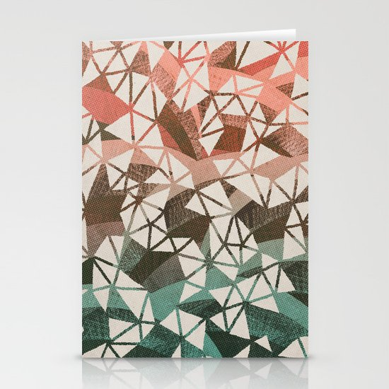Geometry Jam Stationery Card
