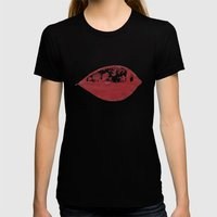 The Deer Maker Womens Fitted Tee Black SMALL