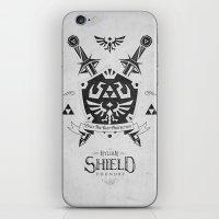 Legend of Zelda - The Hylian Shield Foundry iPhone & iPod Skin