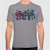 Young, Loud & Snotty Mens Fitted Tee Athletic Grey SMALL
