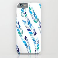 iPhone & iPod Case featuring Leafy Repeat by Flo Thomas