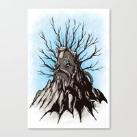The Wise Mountain Canvas Print
