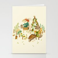 Critters: Summer Gardeni… Stationery Cards