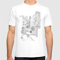 Cross Mens Fitted Tee White SMALL
