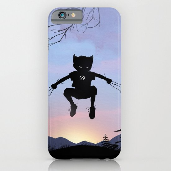 Wolverine Kid iPhone & iPod Case