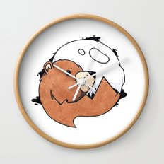 Moonbear Wall Clock